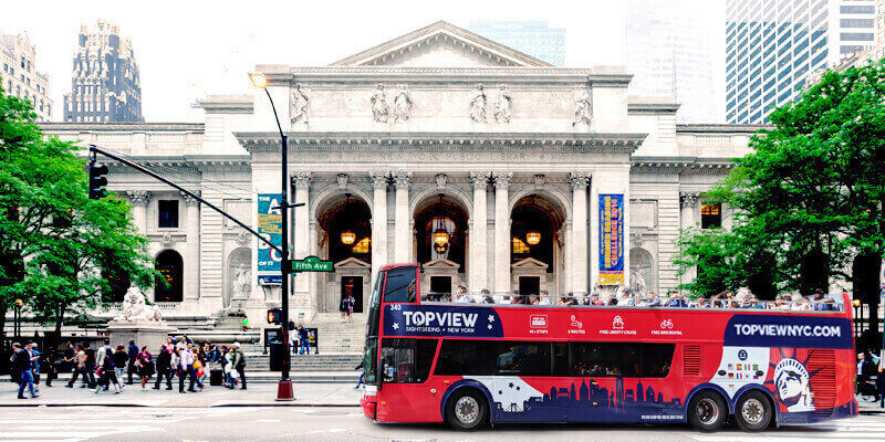 NYC Saver Pass 24 Hours | Sightseeing Bus NYC